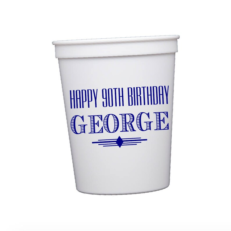 Adult Birthday Favors Personalized Cups
