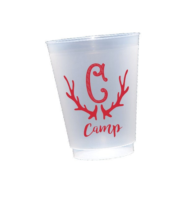 Antler Cups Personalized Shatterproof Cup Personalized Plastic