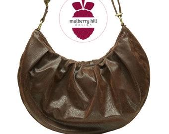 Slouchy Hobo Crossbody Bag - Medium Size