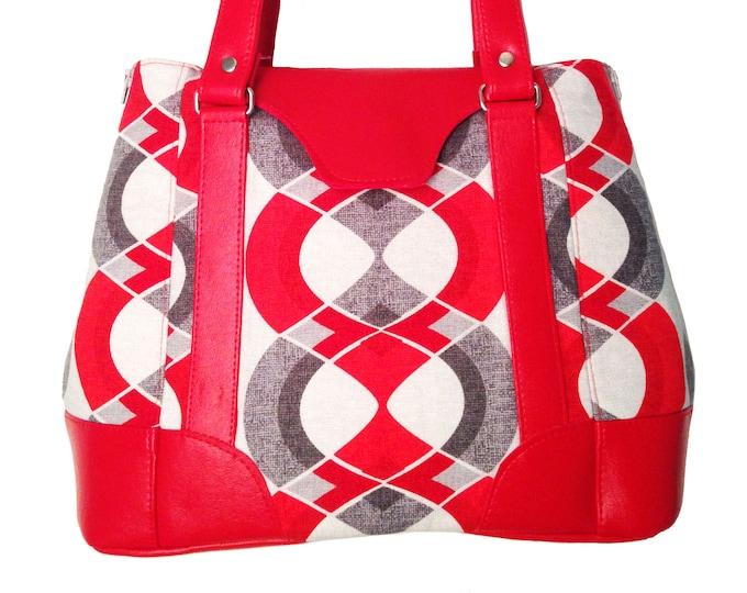 Custom, Design Your Own, Expandable Tote Bag, Handbag, Shoulder Bag, Crossbody, Purse,Side Zipper, Leather, Cork, Vinyl, Canvas, Cotton