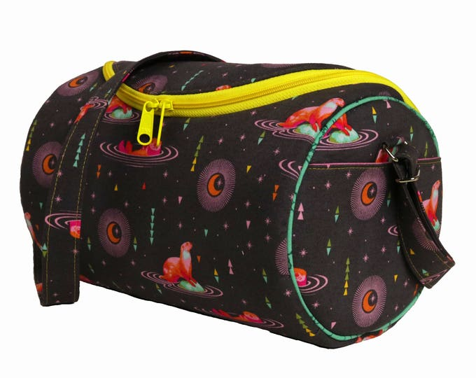 Custom - Design Your Own - Small Barrel Bag, Ladies Shoulder Bag