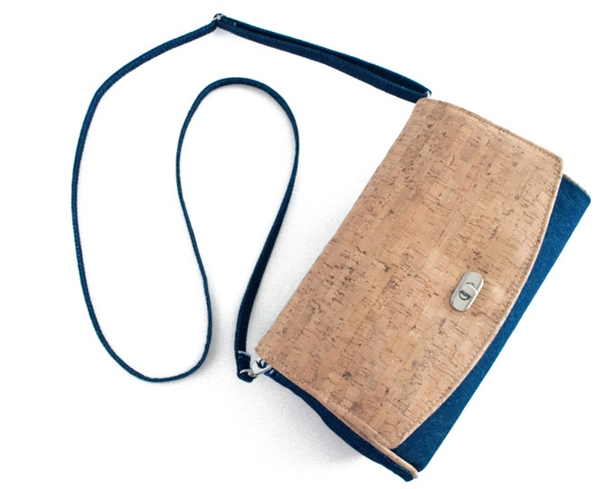 Custom, Design Your Own, Convertible Clutch, Crossbody, with Flap, 3 Sections, Zippered Pocket