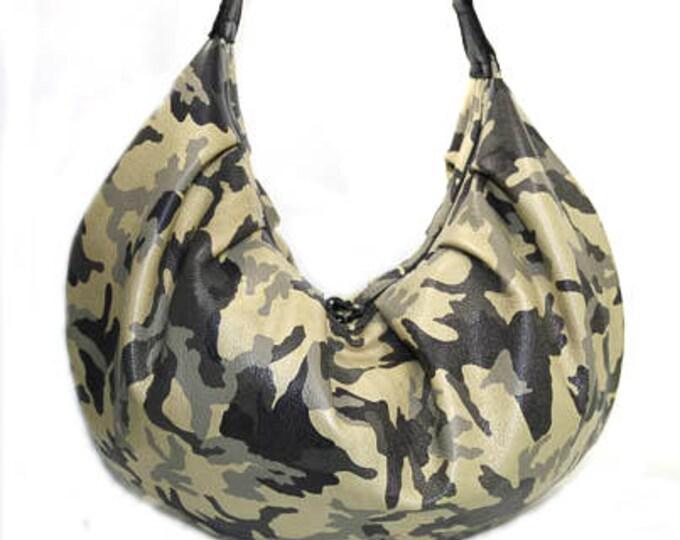 Custom, Design Your Own, Slouchy Hobo Bag, Large Shoulder Bag, Boho Chic Bag, Leather,Cork,Vinyl,Canvas,Denim,Cotton, Mulberry Hill Design