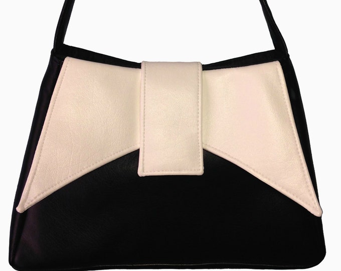 Custom, Design Your Own, Ava Bow Flap, Evening Bag, Trapeze Bag, Shoulder Bag, Purse, Leather,Cork,Vinyl,Canvas,Cotton,Mulberry Hill Design
