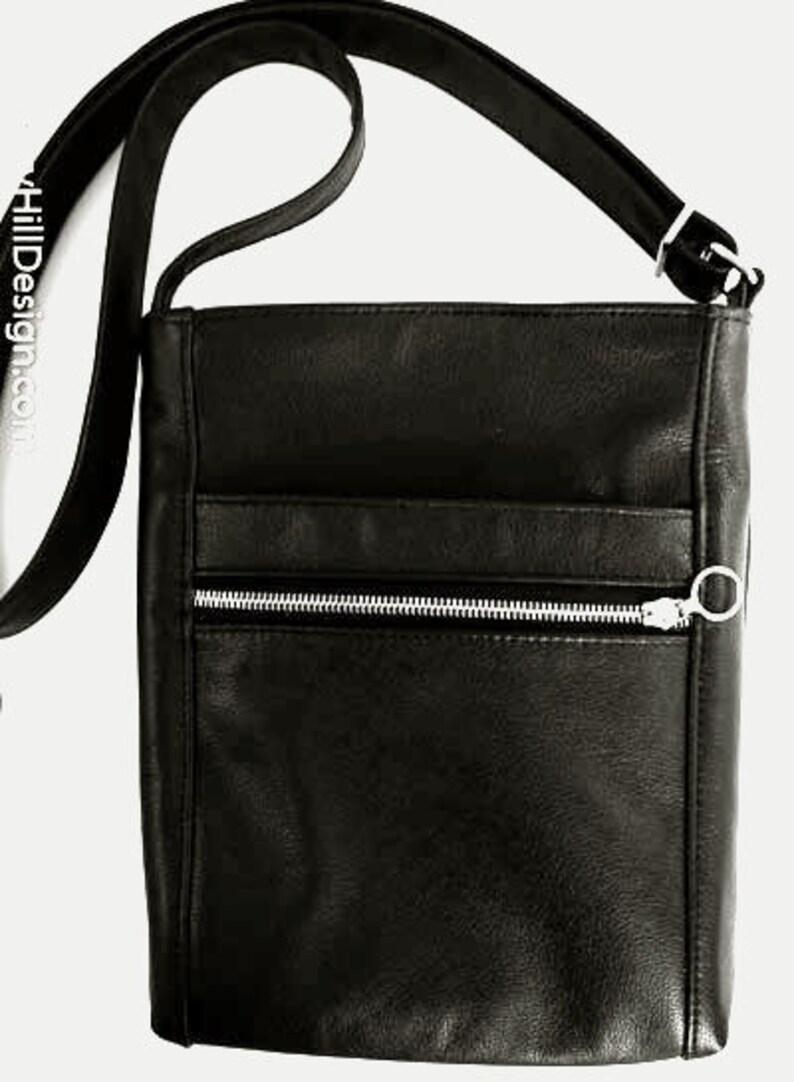2c381b263a9 Design Your Own Custom Crossbody Bag Two-Zip Hipster Bag   Etsy