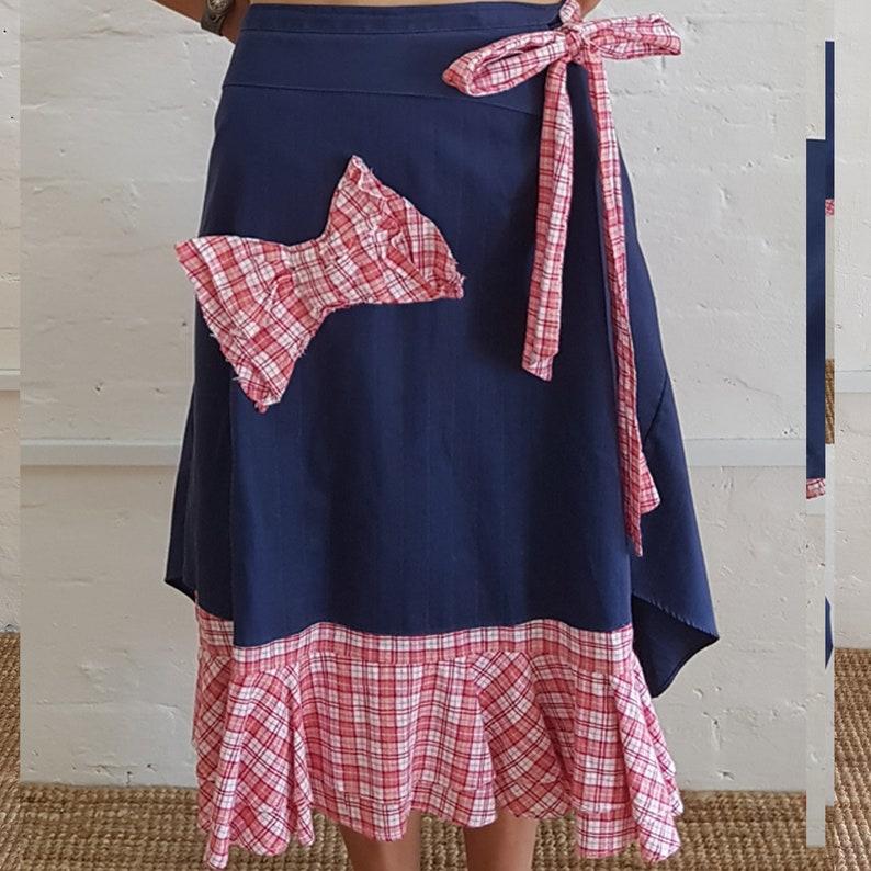 Flamingo skirt
