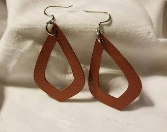 Earrings - Faux Leather