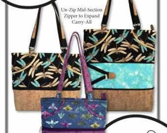 6bccb99bf1b5 Kathy s Expandable Tote Paper Pattern - Expandable Tote Pattern - Tote  Paper Pattern - Kathy s Best Selling Expandable Tote Pattern