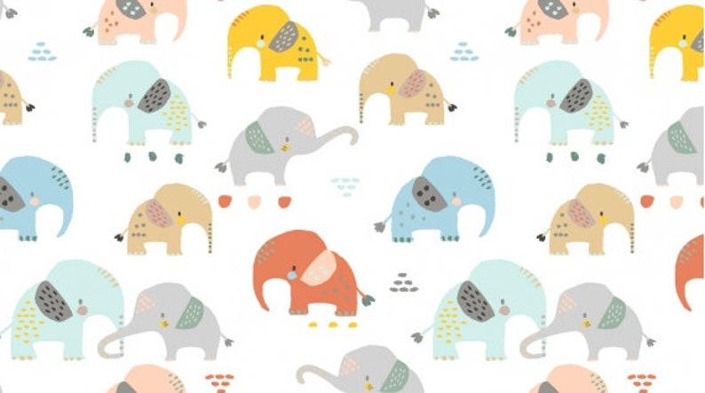 One Yd Half Yd Jungle Quilt Fabric Includes 8 Prints I/'m All Ears from Dear Stella Bundle Fat Qtr Fat 8th