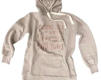 Hippies & Cowboys Women's Hooded Sweatshirt