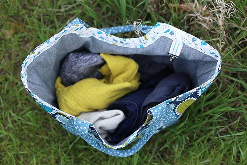 Noodlehead Bag Pattern Noodlehead Poolside Tote Paper Pattern Noodlehead Best Selling Tote Pattern Tote Paper Pattern