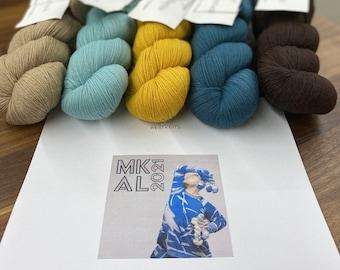 Cascade Heritage Shawlography: Westknits MKAL 2021 Kit