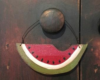 Watermelon Ornament Etsy