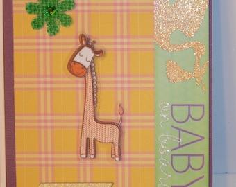 Baby On Board - Giraffe Card