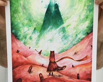 Journey Limited edition print