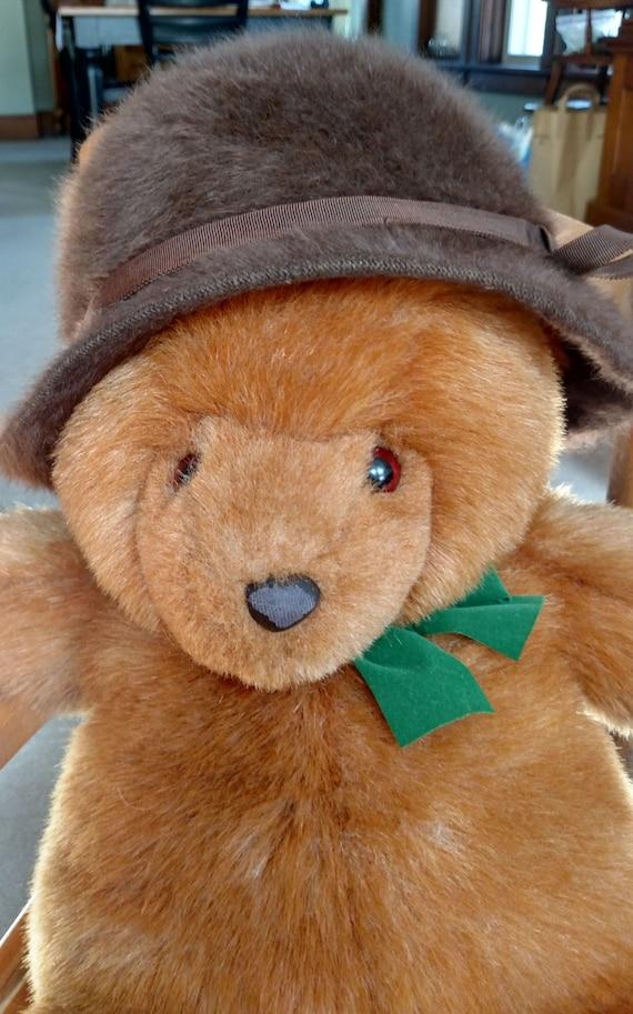 5b5230930e2 Vintage Kangol fur hat Kangol hat fur hat brown hat