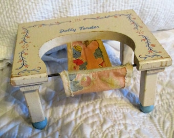 Vintage Dolly Tender Wooden Fits Ginny Doll