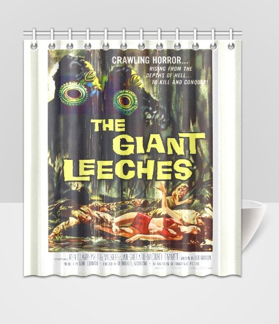 Attack Of The Giant Leeches B Grade Horror Movie Poster Scary