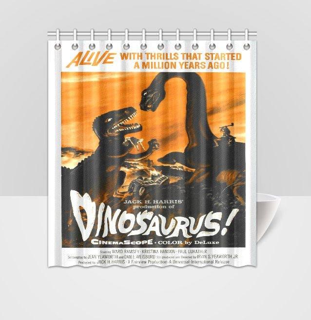 Dinosaurus Dinosaurs B Grade Horror Vintage Movie Poster