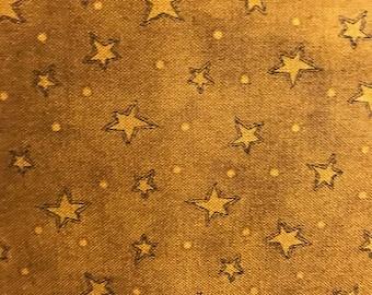 Gold Star Fabric