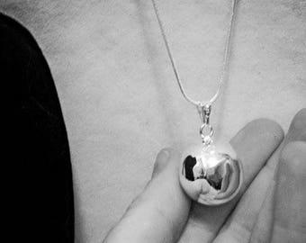 Sterling Silver Harmony Ball - Musical Ball - Maternity Ball - Pregnancy Gift - chime ball - baby shower - bali ball - angel caller