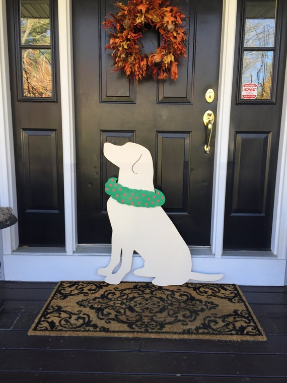 image 0 - Labrador Outdoor Christmas Decoration