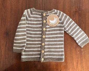 Pure pima Cotton sweater for 9-12 months baby