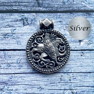 Silver gryphon griffin Made to Order griffon
