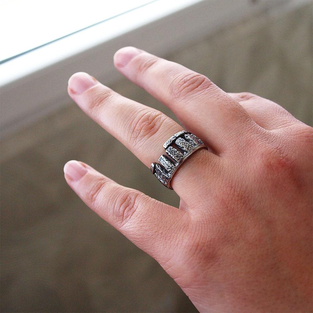 Stonehenge ring Size 65 US | Etsy