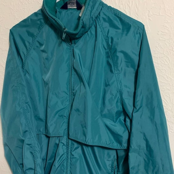 Woolrich teal blue green vintage jacket