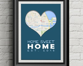 DIGITAL COPY: Housewarming or Apartment-warming Gift, New Home Gift