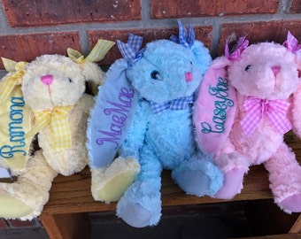 Personalized Easter Bunnies..