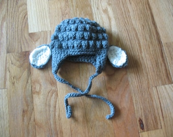 Crochet Lamb Hat