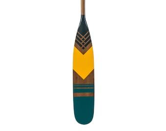 """57"""" canoe paddle ,decorative oar,  hand painted,  personalized, Gift, wedding gift, nautical decor, cottage decor, coastal decor,"""