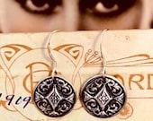 Silver Deco Darling Earrings