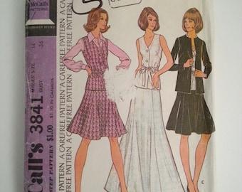 60937ff7b66f17 Een lijn rok Womens pak patroon vintage naaien patroon