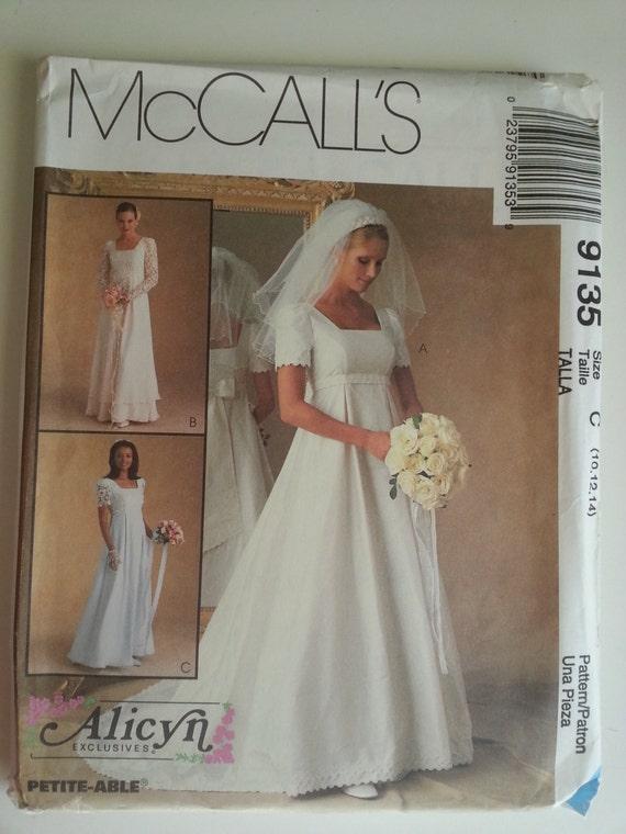 90er Jahre Hochzeit Kleid / Reich Brautkleid / Brautjungfer   Etsy