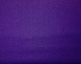 Purple dream cotton solid - Fabric by the yard.