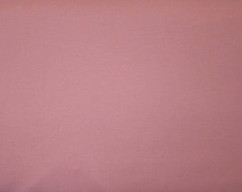 Dusty Rose dream cotton solid - medium pink - Fabric by the yard.