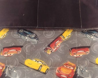 Cars Lightning McQueen 5 lb weighted blanket 36 x 42
