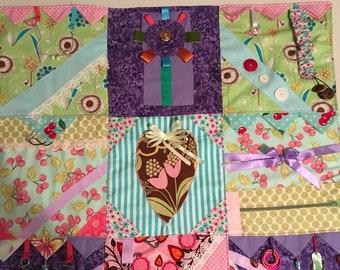 Fidget, Dementia lap quilt