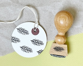 Stamp fir branch | Stamp Sheet | Stamp Christmas | Autumn Stamps