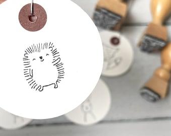 Stamp hedgehog   Stamp forest animal   Children's birthday   Start of school