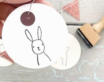 Stamp hare   Stamp forest animal   Children's birthday   Start of school