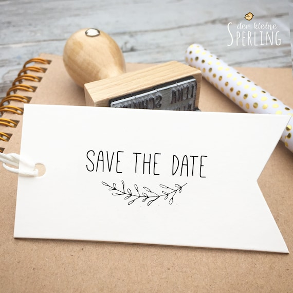 Stempel | SAVE THE DATE | Vintage Rustic