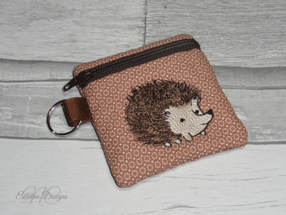 Darling hedgehog change purse