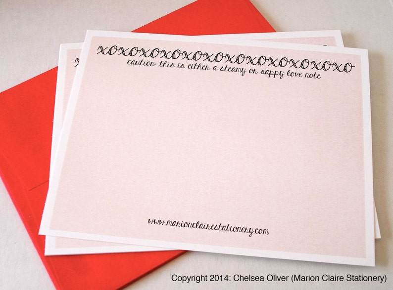 Love Notes Steamy /& Sappy Notecards