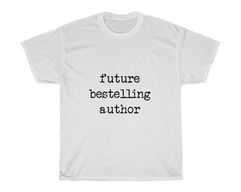 Future Bestselling Author Unisex Heavy Cotton Tee
