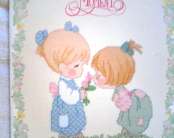 "Precious Moments Cross Stitch Pattern Booklet... ""Good Friends Are Forever""  PM31"