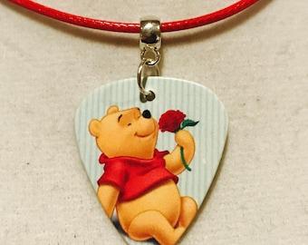 Winnie Guitar Pick Necklace